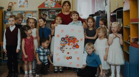 Поздравление с Днём матери от воспитанников православной группы детского сада №10  г. Таштагола